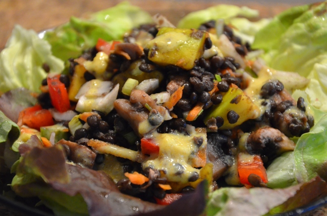 salade lentilles exotique